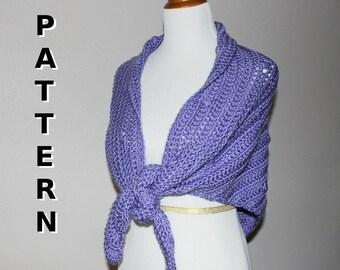 Crochet Pattern - Bubble Shawl