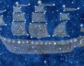 """Night Voyage 11"""" x 17"""""""