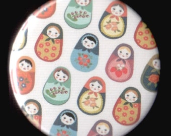Bunches of Matryoshka Button