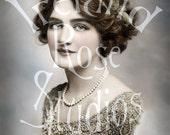 Victoria-Edwardian Woman-Digital Image Download