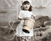Lilith and her Bucket-Digital Image Download