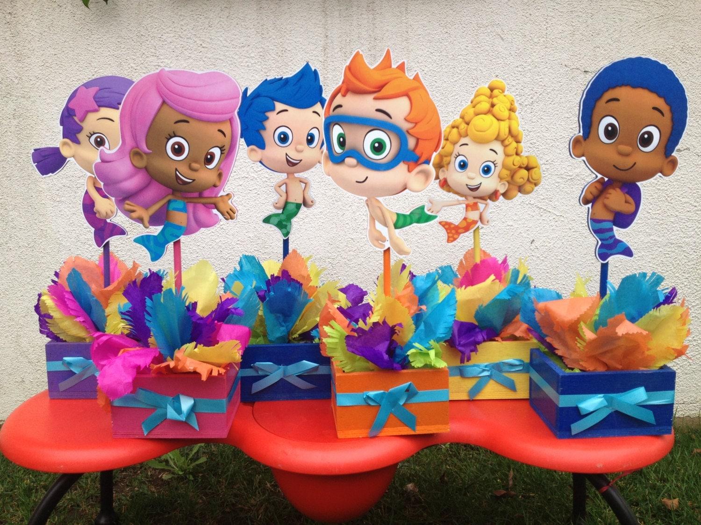 Bubble guppies 1st 2nd 3rd 4th 5th by uniqueboutiquebygami - Decoraciones infantiles para ninos ...