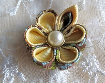 Girls Kanzashi Flower Hairclip