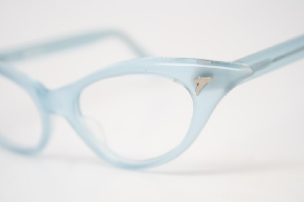 Cat Eye Glasses Small Small Light Blue Cat Eye