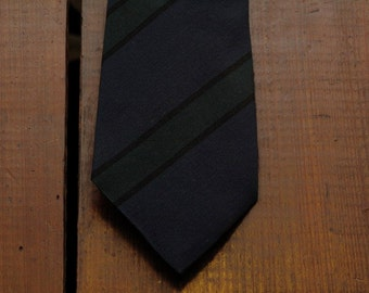 vintage silk regimental tie