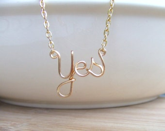 Personalized Name Necklace Yes Necklace or Any Name Gold or Silver Name Necklace Up to 9 Letters Word Necklace Teen Jewelry Gifts Under 20