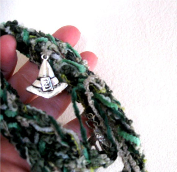 Gaia Witch's Ladder Mother Earth Pagan Wicca Witchcraft Prayer beads Rosary