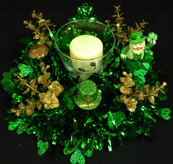On Sale 15 Off Happy St Patricks Day Irish Decor Table