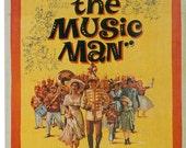 Magnet The Music Man movie poster Robert Preston Shirley Jones