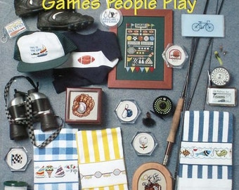 Games People Play - Cross Stitch Designs from TGIF