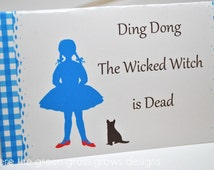 Wizard of Oz Table Food Signs