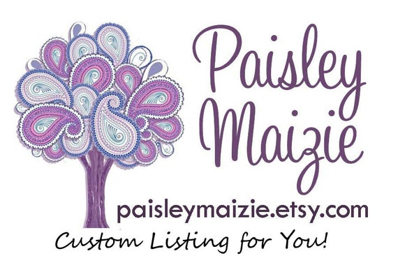 Custom Listing for Jessica - iPad - Paisley and Gray Graphic- MADE TO ORDER