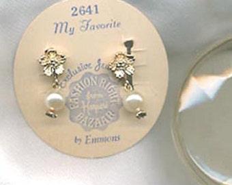 Emmons MY FAVORITE Earrings - In the Original Box SALE 5.00
