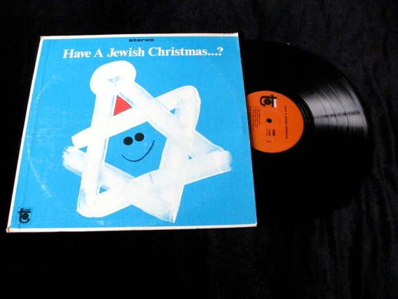 Have Yourself a Jewish Christmas  Sixties Vintage vinyl  Record Album  Stereo Lp NM supper clean