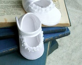 Baptism Christening Baby Sandals White Spring Summer Baby Shoes Newborn - Hopphopp