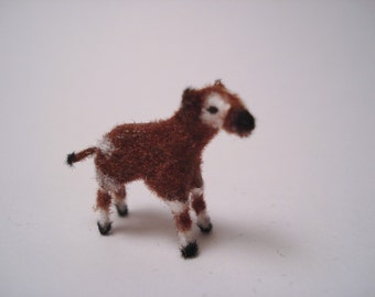 Tiny Okapi for the Dollhouse