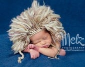 Lion Hat and Diaper Cover Newborn Photography Prop Jungle Set