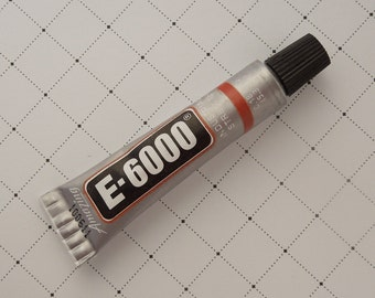 E6000 Adhesive Glue For Fused Glass Cabochons Jewelry Buttons Crafts Glue on Findings