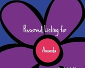 Reserved Listing for Amanda  two headbands
