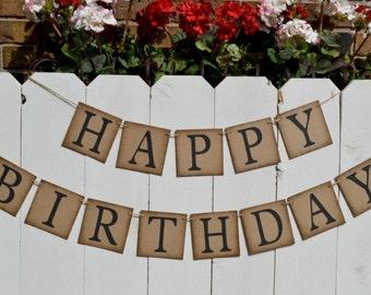 Happy Birthday Banner  ..  Birthday Banner  ..  Adult Birthday  ..  Birthday sign