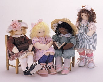 Molly Malone and Friends, Easy to sew doll patterns from Carolee Creations