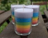 Magical Freakin Unicorn Farts Rainbow Soy Votive Candle