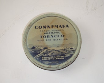 Connemara Tobacco Tin, Belfast and London