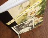 Small Vingtage Photograph Journal - 10 Dollar Altered Journal Sale