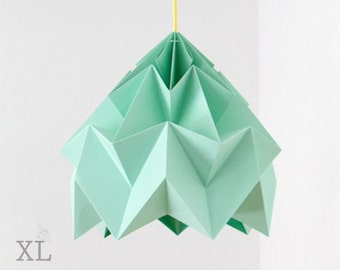 design lamp origami Moth XL mint