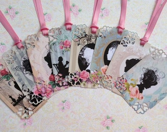 Silhouette's Gift Tags set of 8 No.519