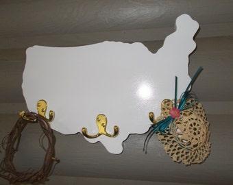 Homeland Coat Rack/Wall Decor/Hat Rack/Jewelry Hanger/Housewares