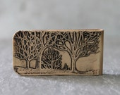 Trees Money Clip