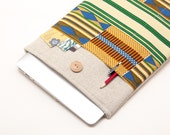 "50% OFF SALE NEW 2016 MacBook 13"" Pro Case. African kente style MacBook 13 Case. Case for MacBook 13 Pro Retina."