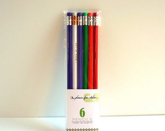 6 pencil gift sets - random assortment