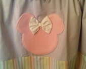Minnie Mouse pastel valance