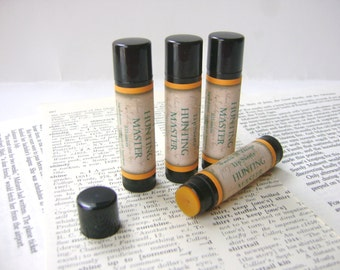 Hunting Master Herbal Lip Balm with Shea and Cocoa Butter, German Herbal Liqueur Flavor