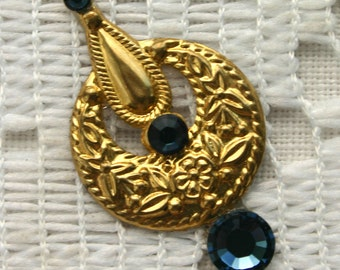 SALE - Montana Blue Bindi in Bright Gold