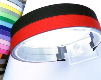 15mm (5/8'') Grosgrain Ribbon Coverted Headband - Pick Your Color 60 Different Color