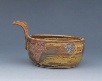 French Onion Pottery Soup Bowl