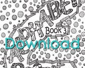 DOWNLOAD -Abstract Doodles Coloring Book 3 (Alphabet)