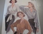 "UNCUT FF  Misses Blouses  New Look 6175  Size 8 to 18  Bust 34"" to 44"""