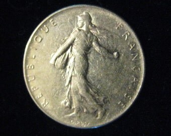 France 1978 - French 1 Franc Coin