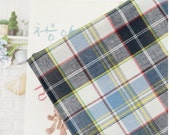 laminated pre dyed check cotton 1yard (44 x 36 inches) 48366