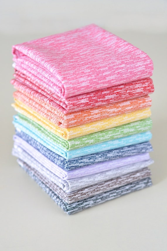 Shuffle Fat Quarter Bundle from Riley Blake 11 Colors (complete)