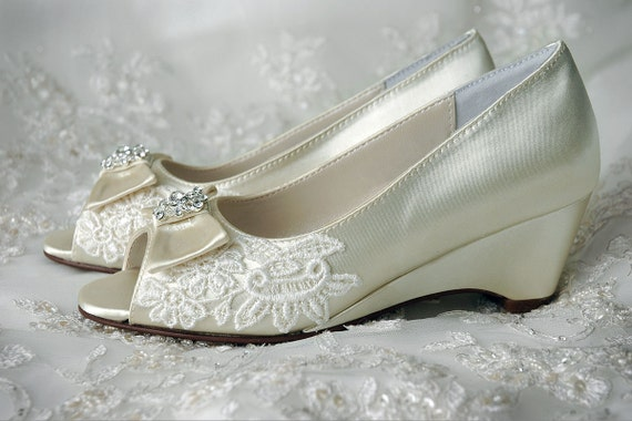 Shoes Flower Girl Shoes Wedge Pump Shoes Girls Katie Wedding Bridal