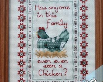 Family Love Sampler - Instant Pattern