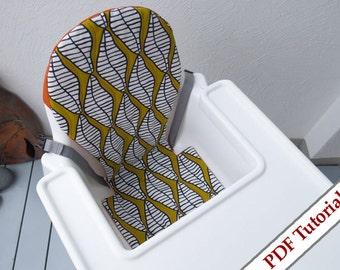 Ikea ANTILOP Cover Highchair Pattern