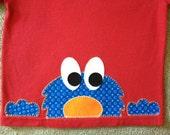 Peek-A-Boo Monster Shirt-SIze 18 Months Ready to Ship