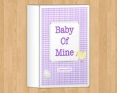 Purple Pregnancy Journal, printable