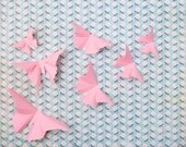 Pink Baby Gift, Butterfly Nursery Decor, Pink Baby Shower Decorations